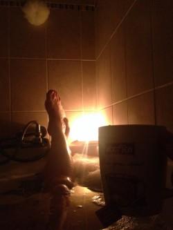 candle bath